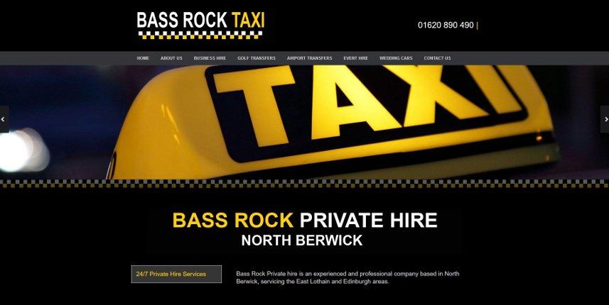 Bass rock web design