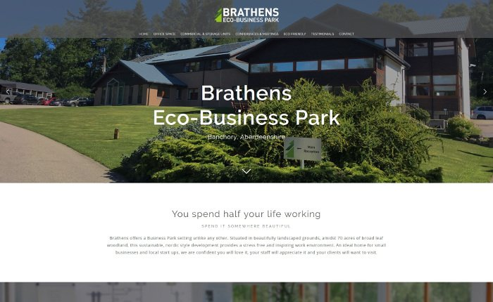 Brtahens web design