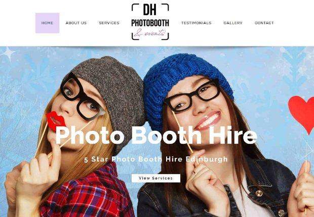 DH web design
