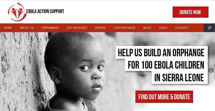 Ebola web design