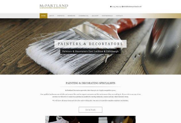Mcpartland web design