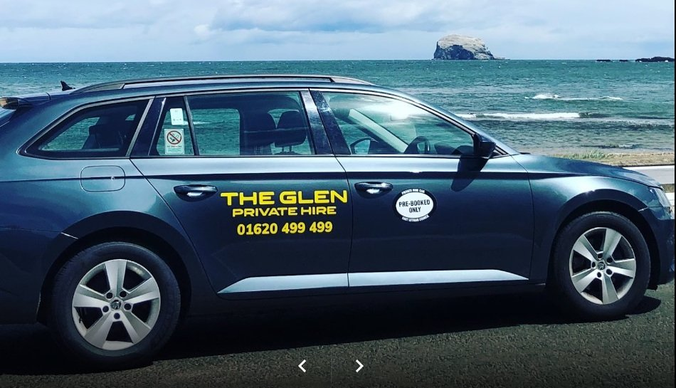 The Glen web design