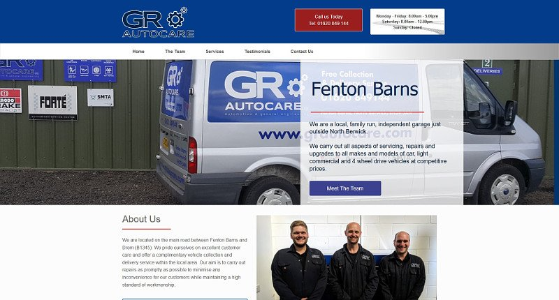 GR web design