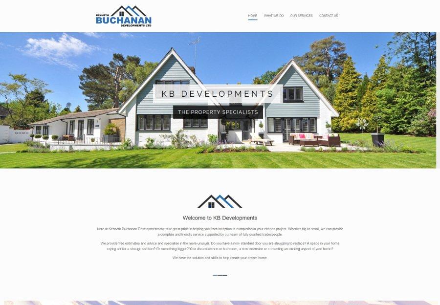 KB web design