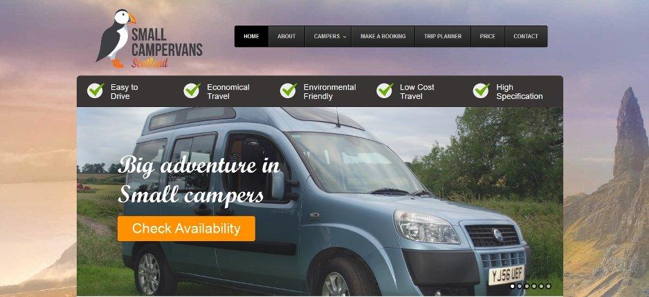 small campervans