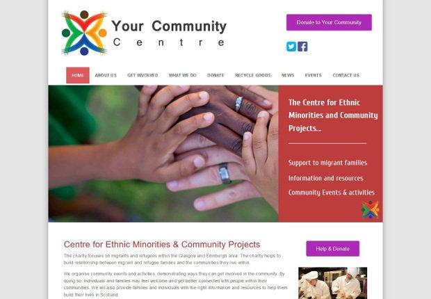your community web design