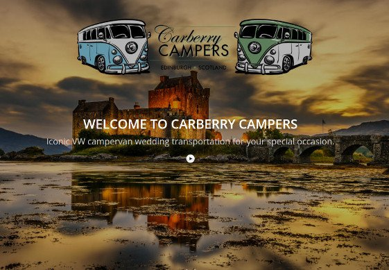 Carberry camper web design