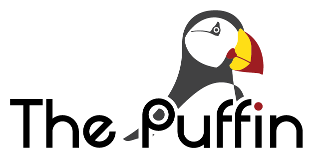 the puffin logo