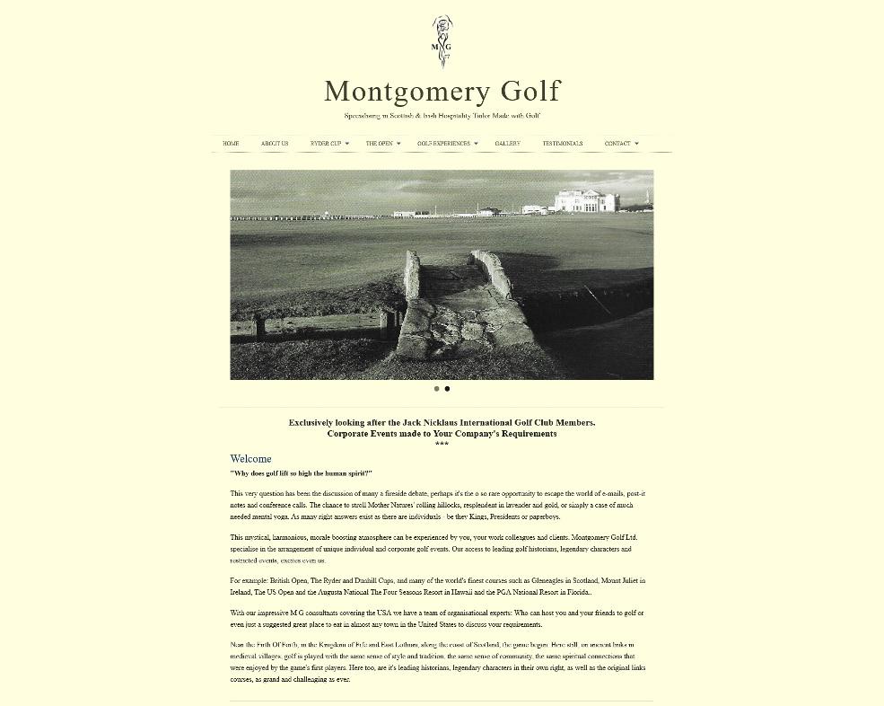 monty golf