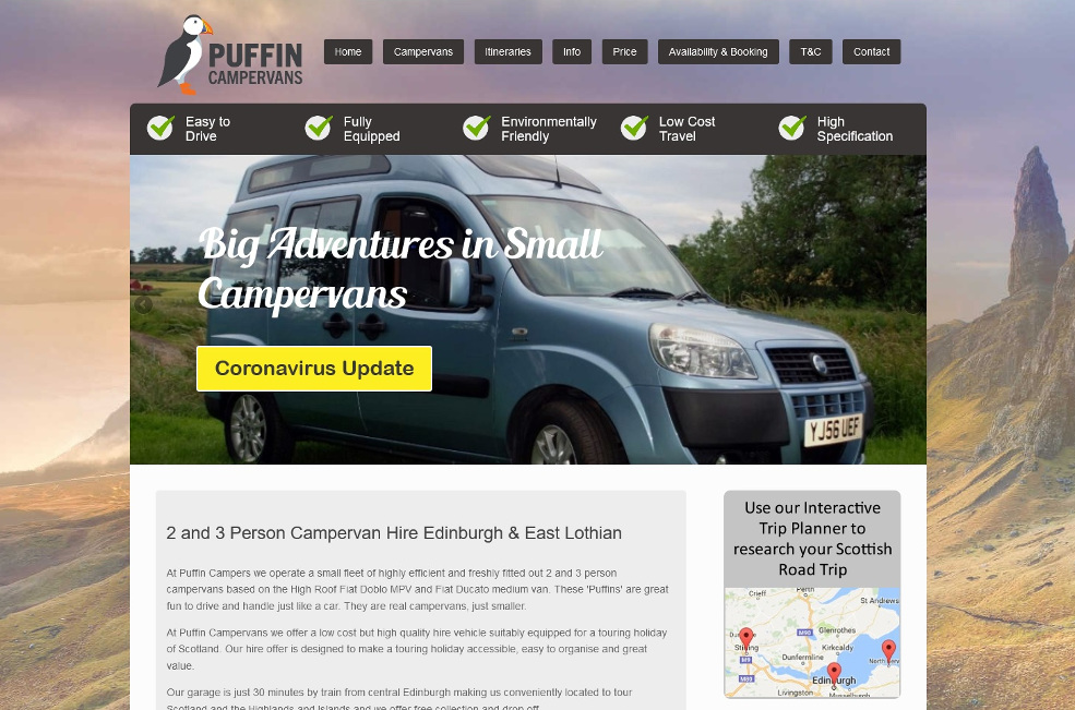 puffin campers
